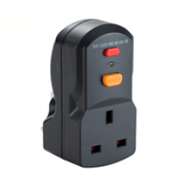 Defender 13a Rcd Plug Socket Adaptor 240v